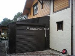 ворота рольставни на гараж