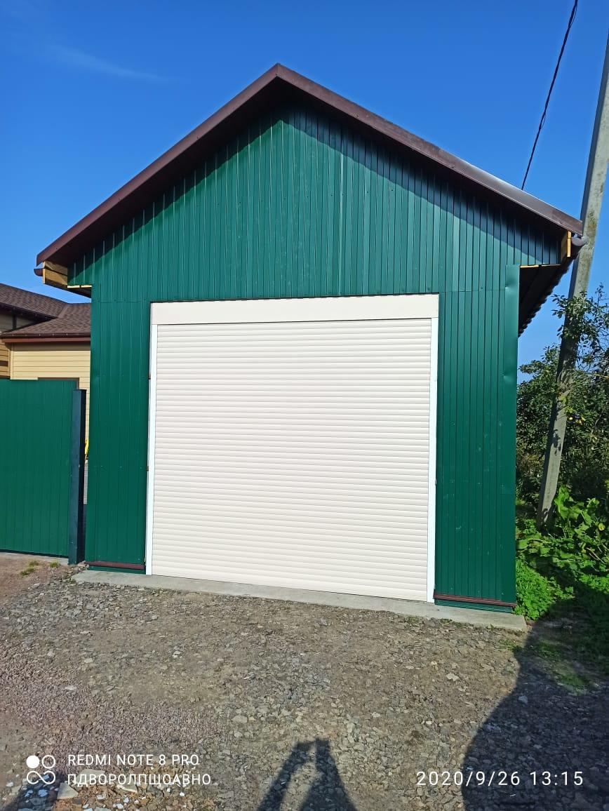 роллетные ворота на гараж