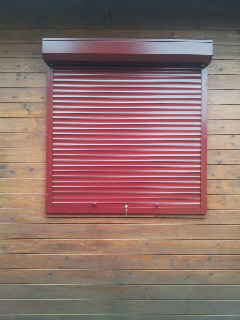 роллета на окно дачи