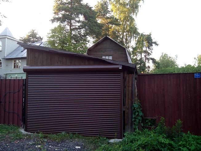 ролл ворота на въезд в гараж