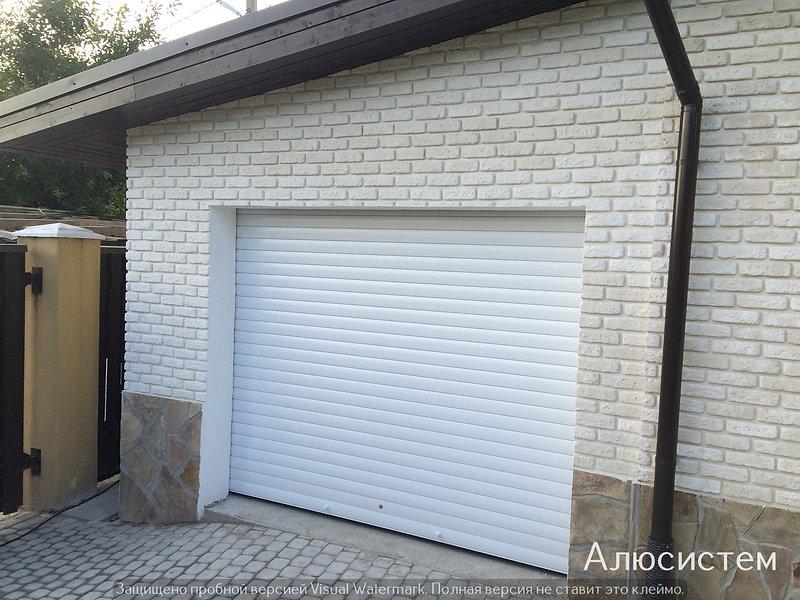 ворота в гараж рольставни агалатово.jpg