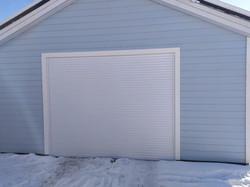 роллетные ворота на гараж 1