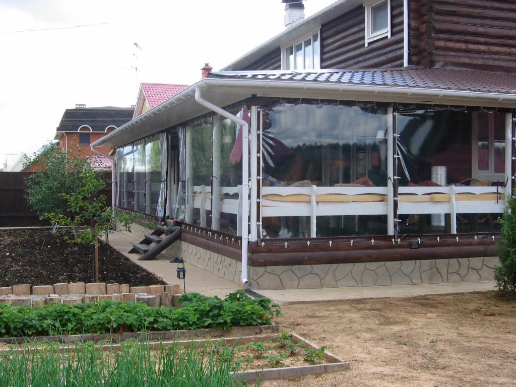 мягкие окна шторы пвх