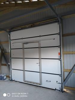 гаражные ворота ритерна