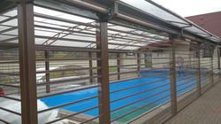 рольставни прозрачные бассейн ганино