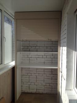 ролеты на шкаф на балкон