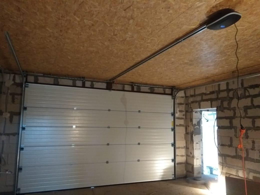 подъемные гаражные ворота торосово