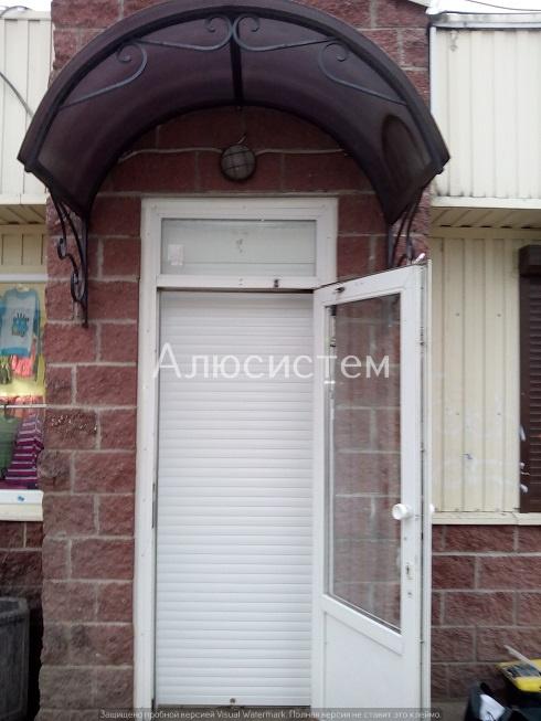 Рольставни на дверь г. Кировск
