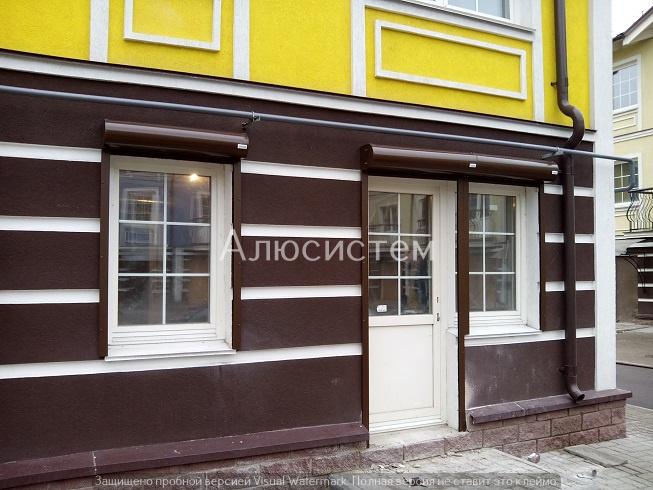 Роллеты на окна и двери ул. Щербакова