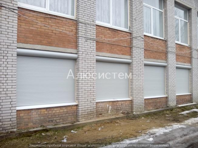 Роллеты на окна школы пос. Токсово