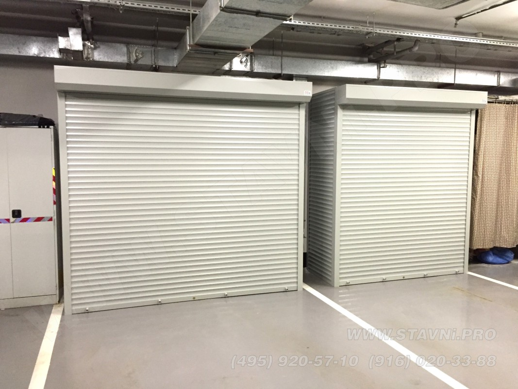 рольставни в паркинг