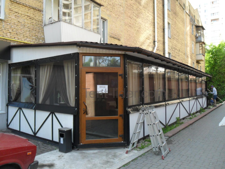 мягкие окна в ресторане