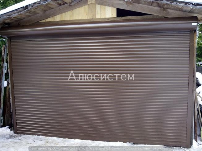 Роллетные ворота AR55 дер. Дятлицы
