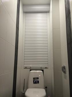 сантехнические рольставни в туалет цена размеры