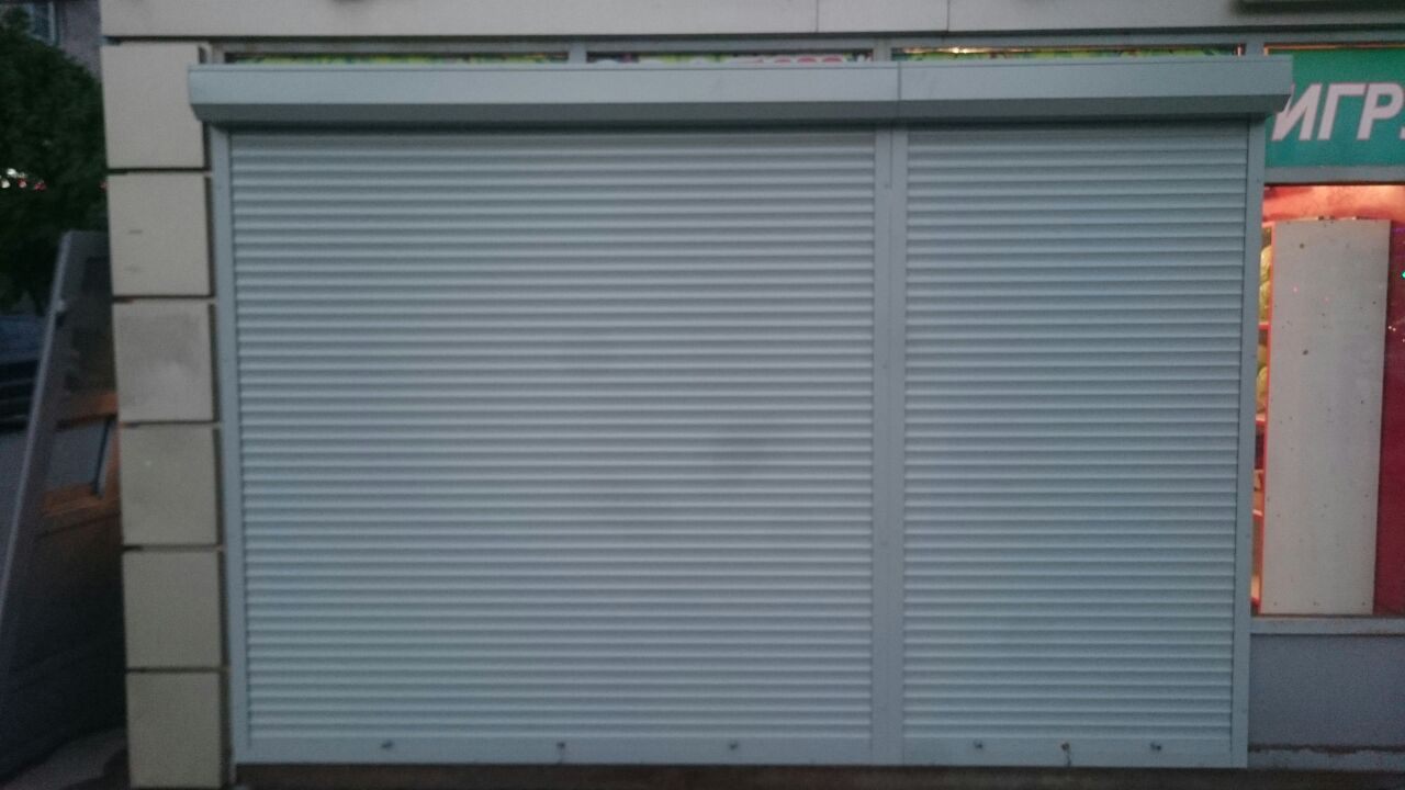 ролеты на ворота в гараж
