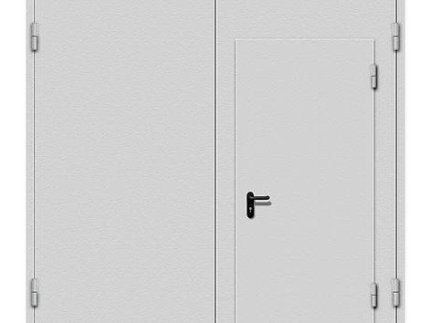 гаражные распашные стальные ворота.jpg