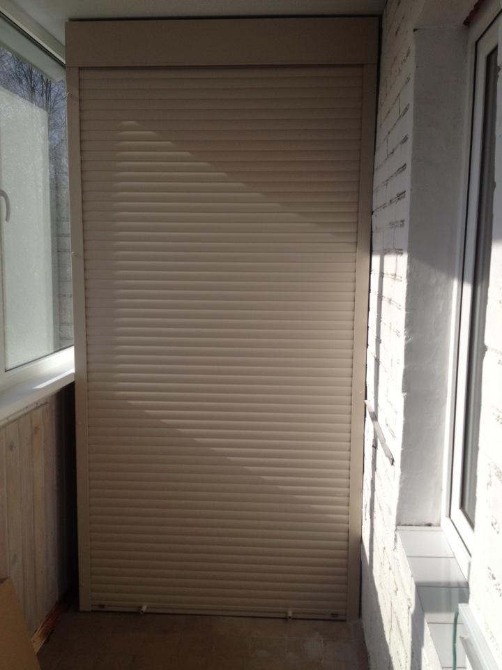 Роллета на балконный шкаф