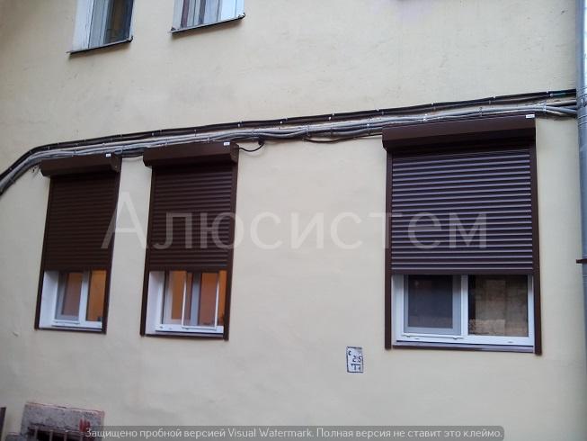 Рольставни на окна офиса Пионерская ул..jpg