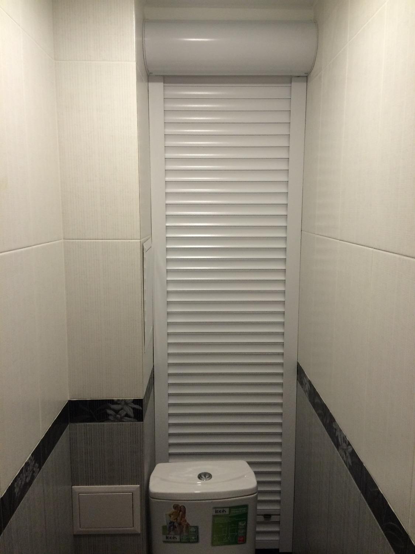 заказать рольставни для туалета