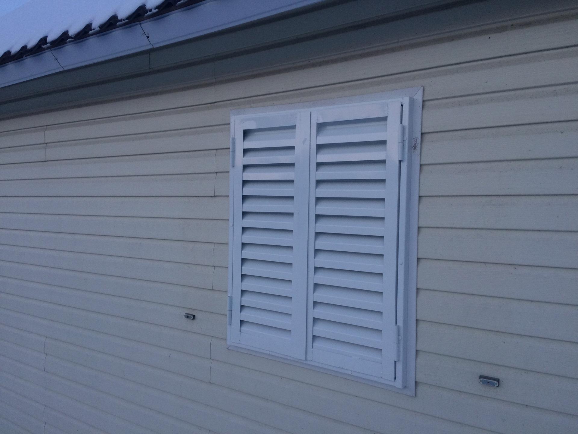 ставни жалюзи окна