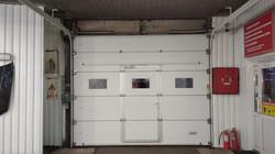 секционные ворота автомойка