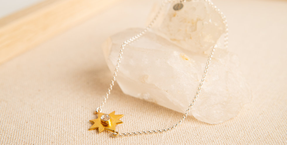TINY DANCER Star Necklace - gold