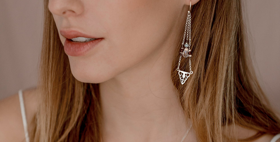 GATSBY Earrings - silver