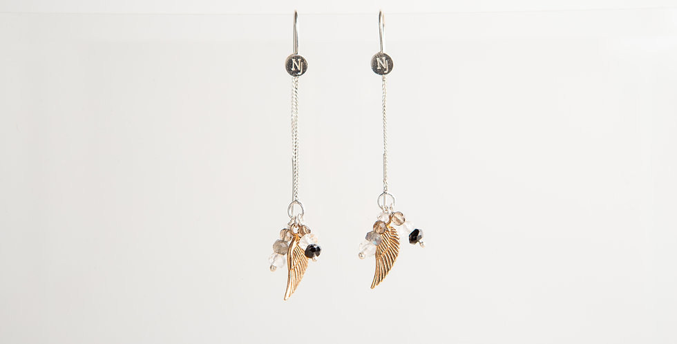 ALYSON Feather Earring