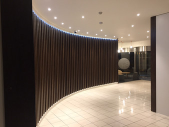 TIC - Interior Feature Wall