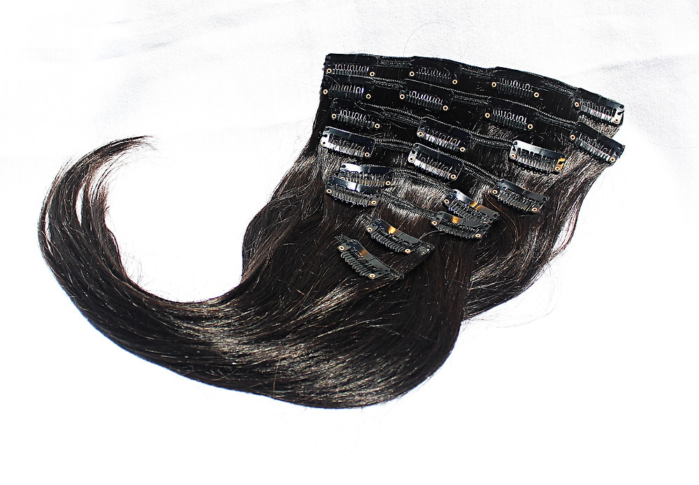 Plush Clip in Hair Extensions
