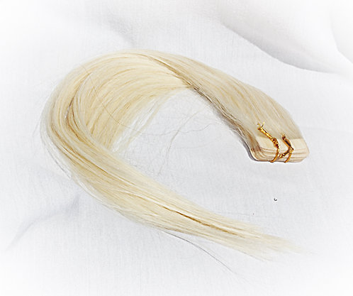 Plush Tape in Hair Extensions