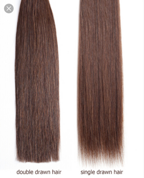 plush double drawn hair extensions upgrade