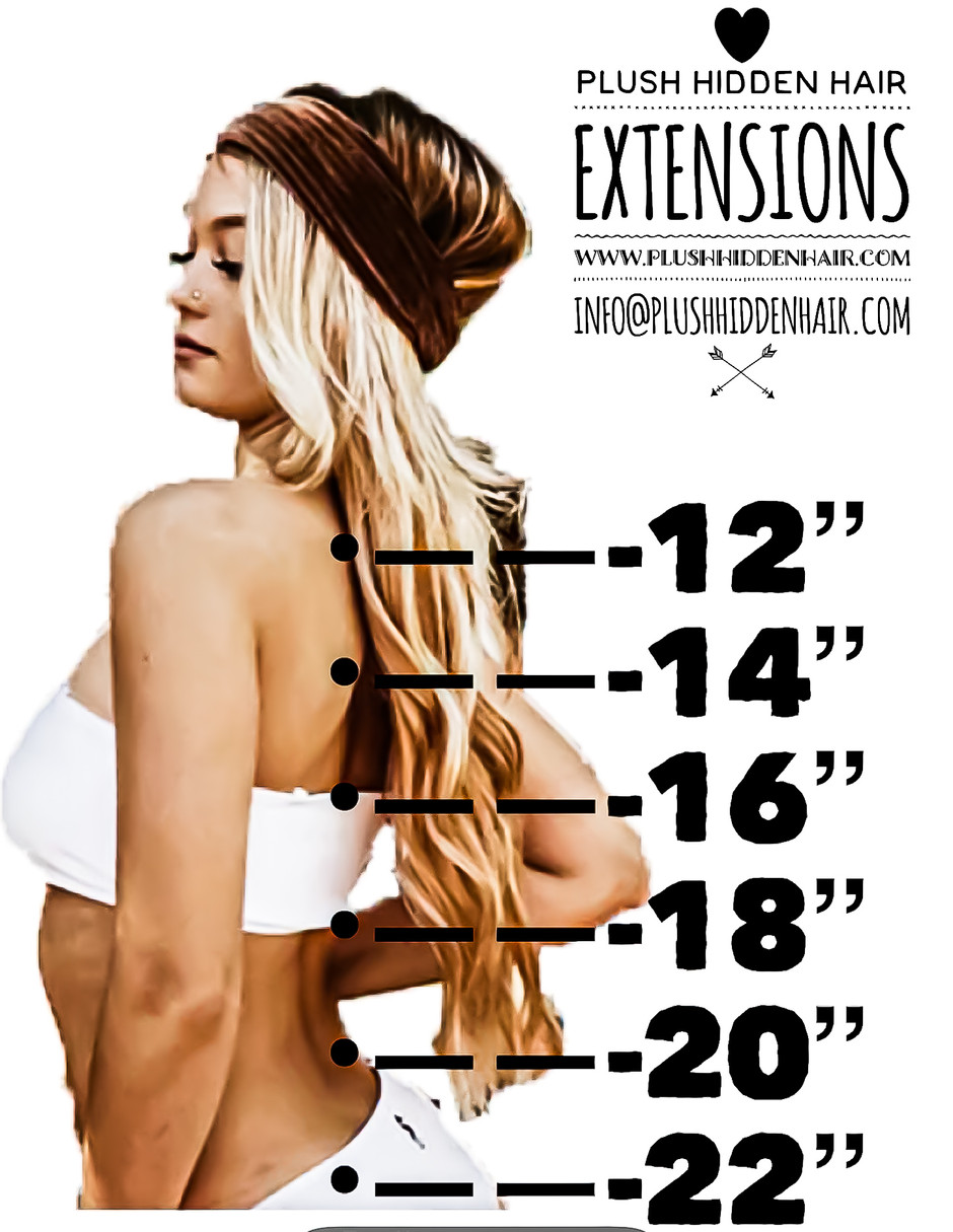 Plush Hidden Hair length guide!