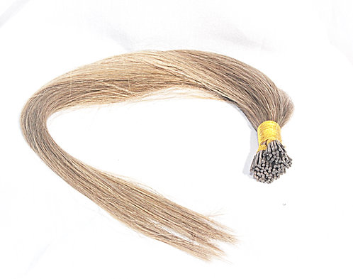 Plush I-u tips are hair extensions used with beads for beaded rows