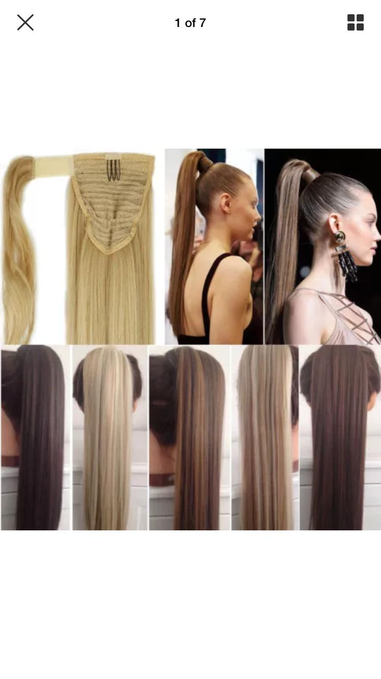 Cheer Hair ponytail
