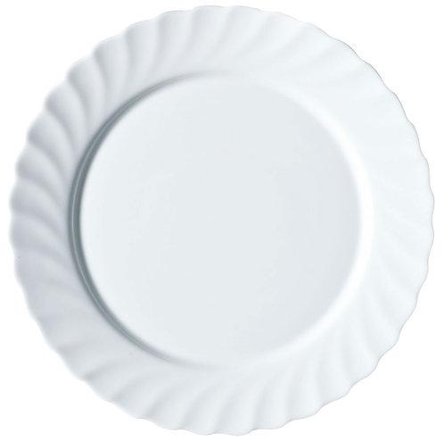 Тарелка обеденная рифленая 24 см