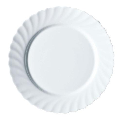 Тарелка десертная рифленая 19 см