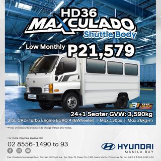 Hyundai HD36 Maxculado