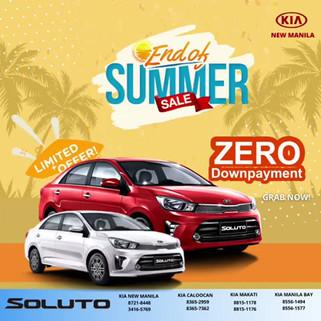 Kia Soluto Zero Down Payment