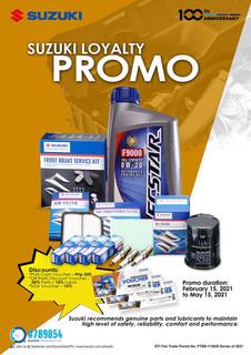 Suzuki Loyalty Promo