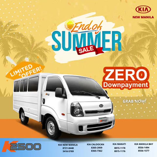 Kia K2500 Zero Down Payment