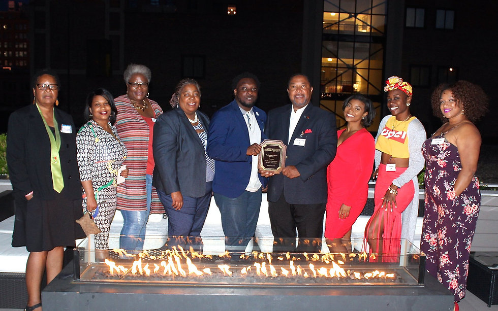 Photo of RABJ members at the National Conference of Black Journalists.