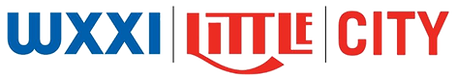 Logo of WXXI, Little Theatre, and City