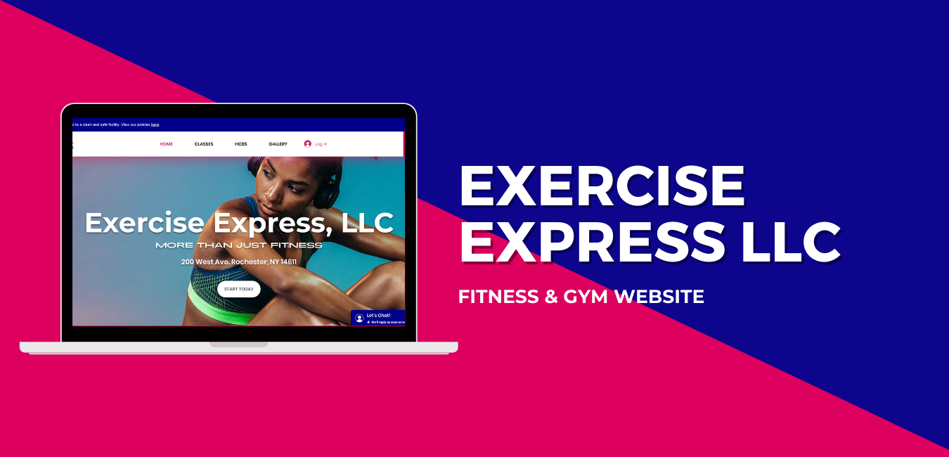 Exercise Express LLC Website Example.png