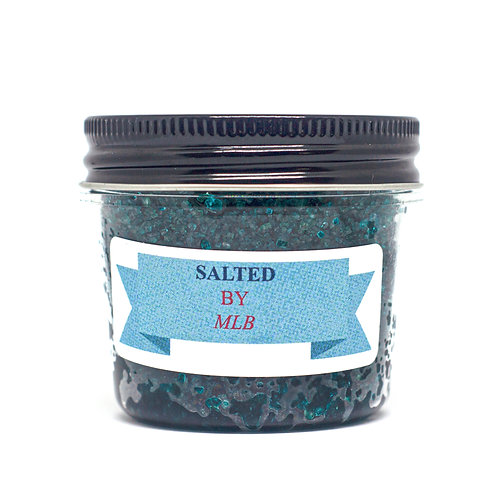Large Sweet Sugar Scrub - Caribbean Blue