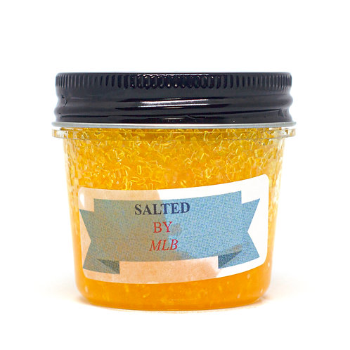 Large Salt Scrub - Sunshiny Lemon