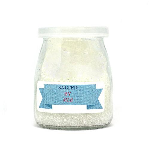 Large Bath Salt - Fresh White
