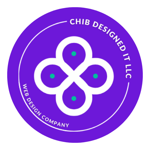 Logo of Chib Designed It, LLC a web design agency based in Dallas County Texas that produces and maintains modern, minimalist, and vibrant websites for small businesses, medium businesses, personal sites, startups, and more.