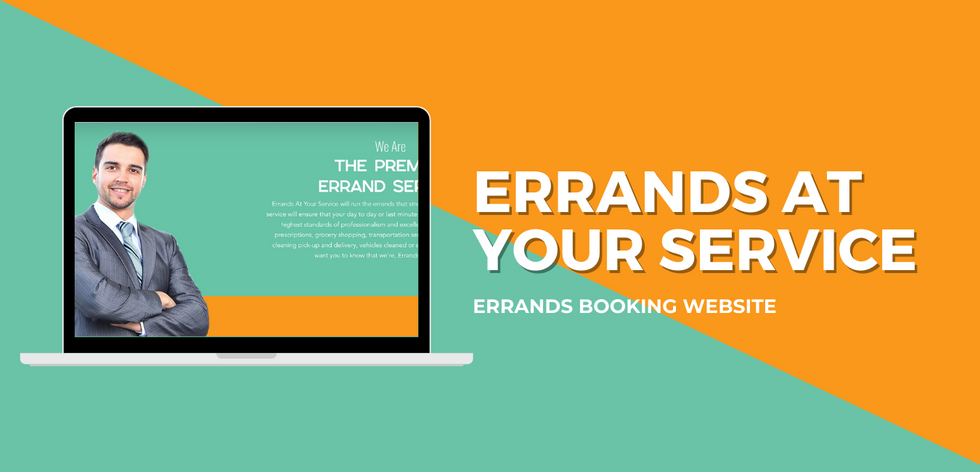 Errands At Your Service Website Example.