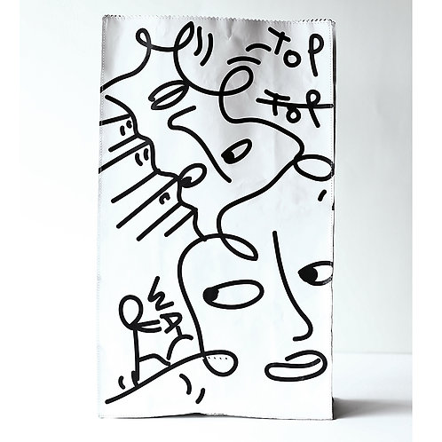 DS04 DUREN/Shantell Martin 「TOP」BREAD BAG L